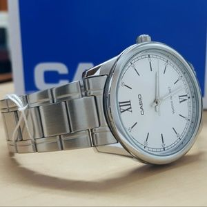 Casio Men's Stainless Steel Water Resistant Watch